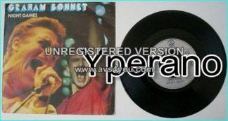 "Graham BONNET: Night Games 7"" singer with RAINBOW, MSG, ALCATRAZZ etc. Check video. + 3 Whitesnake / Deep Purple members!!"