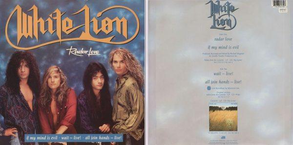 "WHITE LION: Radar Love 12"". 4 songs, incl. Golden Earring cover + Live. Check videos!!"