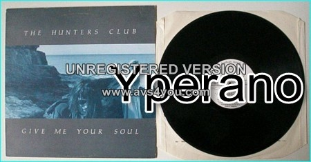 """The HUNTERS CLUB: Give Me Your Soul 12"""". Highly rated English Goth Rock. Check AUDIO + video!"""