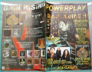 Powerplay magazine 5, 1998, Iron Maiden cover, Union, Stuck Mojo, Soulfly, Filthy Lucre, Von Groove, Norway, Dakota