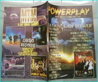 Powerplay magazine 7 1998 Balance of Power, Ten, Mark Free, David Lee Roth, Sepultura, Anthrax, Harem Scarem, Message, Sentenced