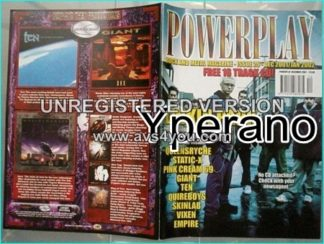 Powerplay magazine 29, 2001- '02 Linkin Park, Queensrych, Static X, Saxon,Pink Cream 69, Giant, Ten, Quireboys, Vixen
