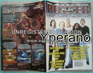 Powerplay magazine 30, Febr. 2002, Sevendust (Billy Sheehan), Ratt, Angra, Him, Bolt Thrower, Luca Turilli, Jag Panzer