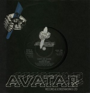 "DARK STAR: Lady of Mars 7"" Mega N.W.O.B.H.M. classic."