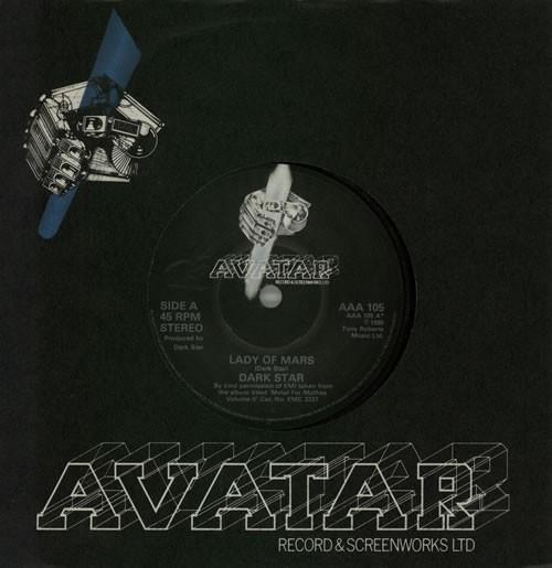 """DARK STAR: Lady of Mars 7"""" Mega N.W.O.B.H.M. classic."""