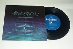 "The MISSION: hands across the ocean 7"" Check video. 3 songs"