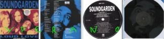 "SOUNDGARDEN Loud Love 12"" EP, B-side is etched. 4 songs. Rare UK version. Check video"