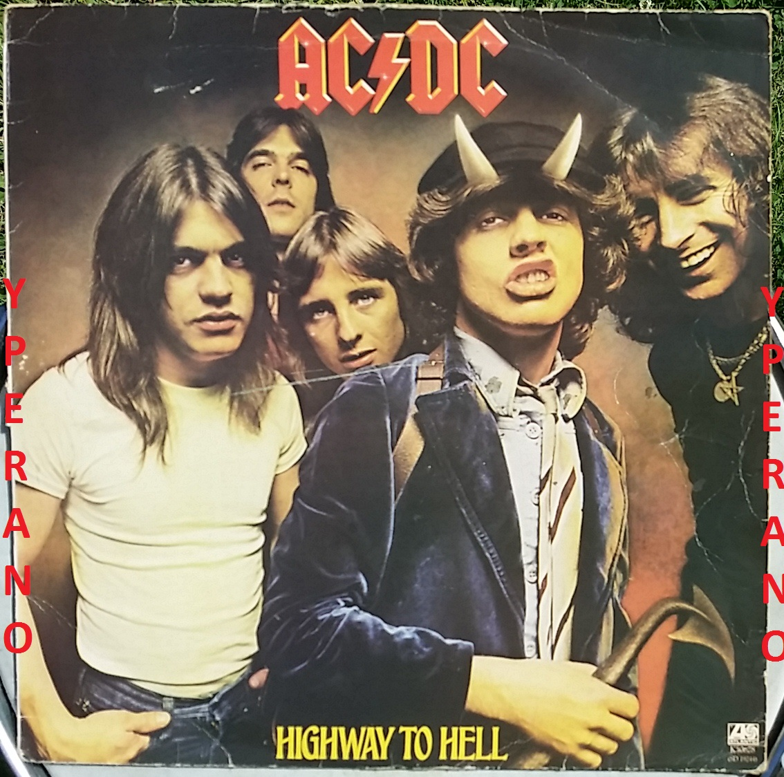 ACDC: Highway to hell LP original 1st press 1979 UK. Check ...