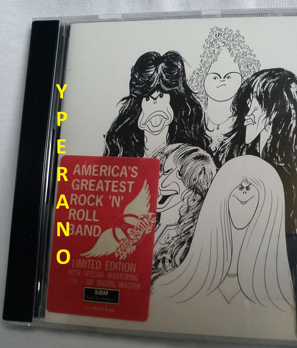 Aerosmith Draw The Line Cd 20 Bit Digital Mastering Sbm