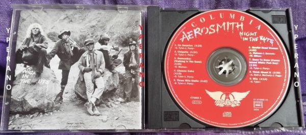 Aerosmith Night In The Ruts Cd 20 Bit Digital Mastering