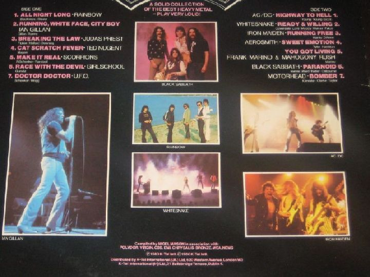 Axe Attack Very Rare 1980 Compilation Lp Has A Completely