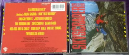 David Lee Roth Skyscraper Cd Crazy From The Heat Ep Van Halen Singer Steve Vai Guitars Billy Sheehan Bass Check Videos Yperano Records