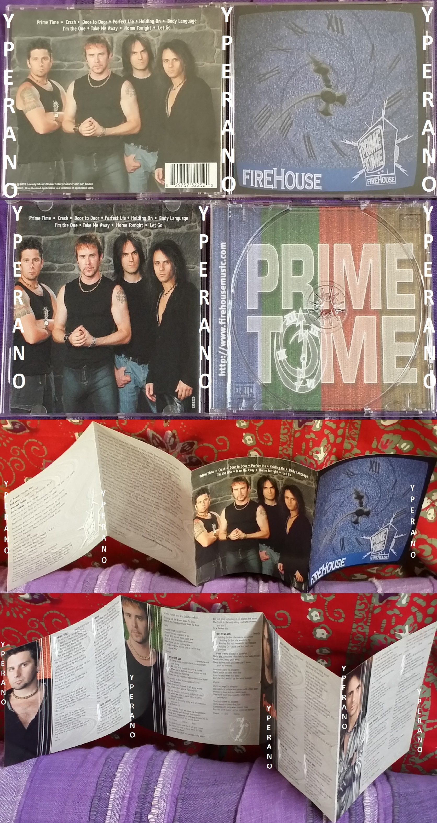 FIREHOUSE: Prime Time CD Great ballads, great rockers
