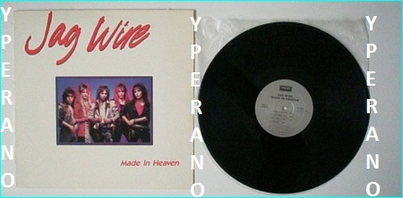 JAG WIRE: Made in Heaven LP  1985 RARE L A pure Heavy Metal / Hard Rock