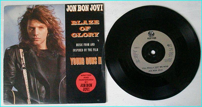 Jon BON JOVI: Blaze of Glory + You really got me now 7