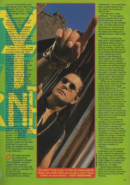 KERRANG - No 362, 1991  OZZY, CANCER, CONFESSOR, COC, KISS OF THE GYPSY,  BON JOVI, ALICE COOPER, TUFF
