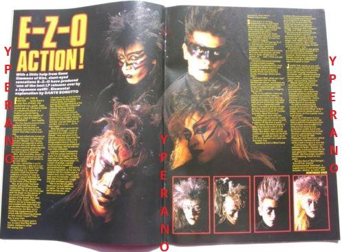 Kerrang No 144 Poison Cover Ezo Ratt Warlock Gary