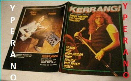 Kerrang No 60 January February 1984 David Coverdale On