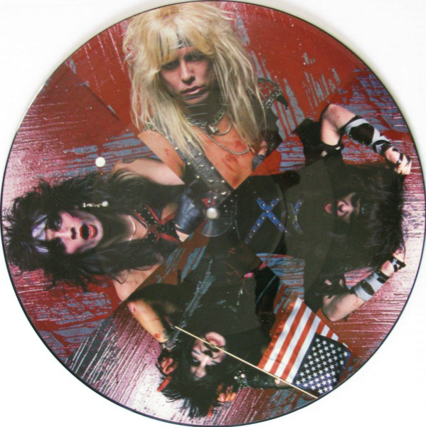 Motley Crue Helter Skelter 12 Quot Us Picture Disc 1984 Incl