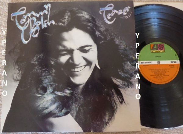 Tommy Bolin Teaser Lp Deep Purple Guitarist 1975 With