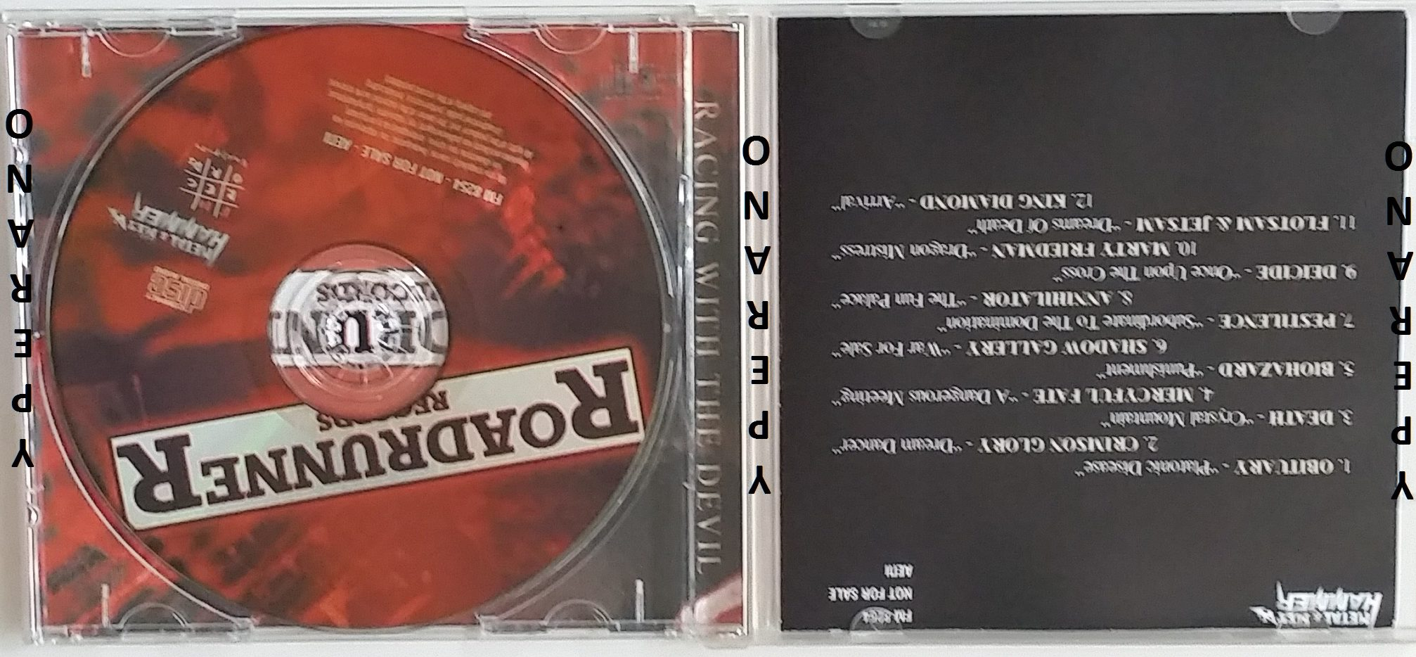 The History Of Roadrunner Records CD Promo. Mercyful Fate ...