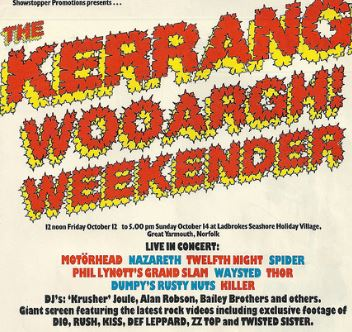 75 ESENCIALES DE LA NWOBHM: 39 - SHIVA - Página 13 The-Kerrang-Wooargh-Weekender