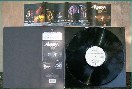 Anthrax Live The Island Years Audiophile Limited Vinyl