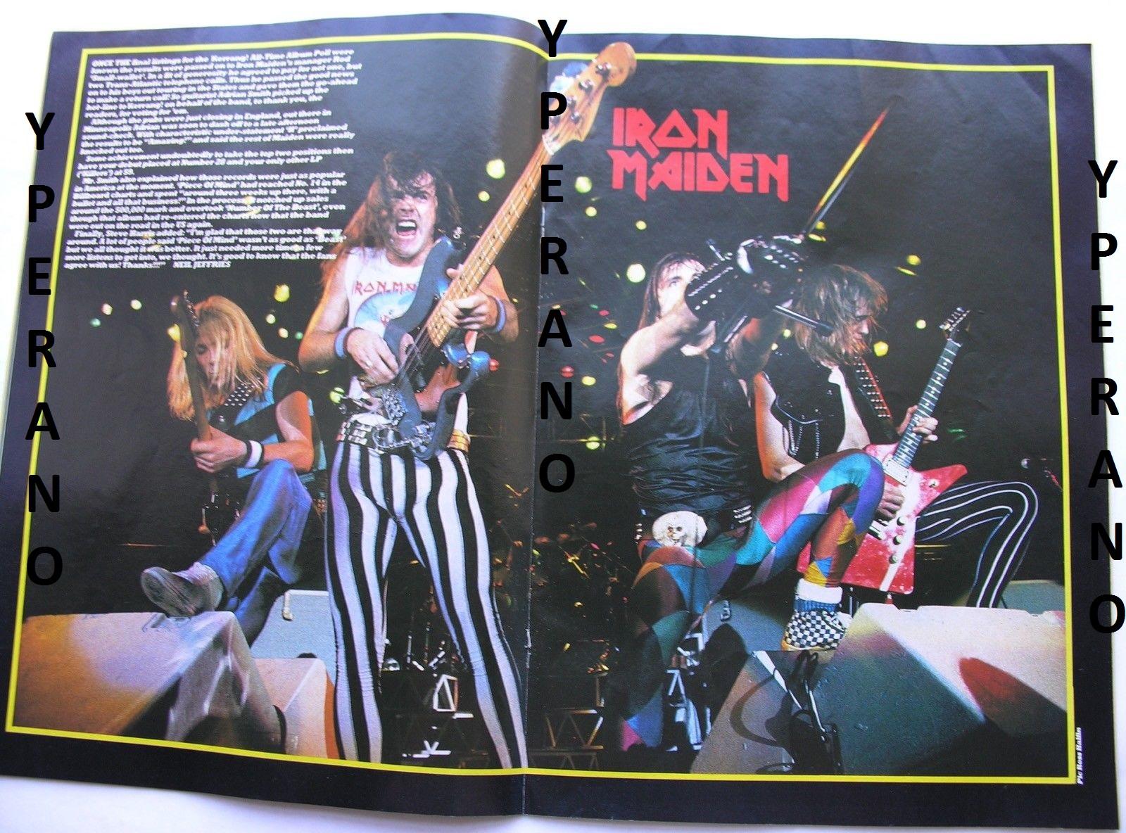 Kerrang No 52 October 1983 Vg Condition Iron Maiden On