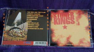 Stoner Kings: Brimstone Blues CD (RARE original Finnish press, different artwork etc). Great Finnish Stoner Rock