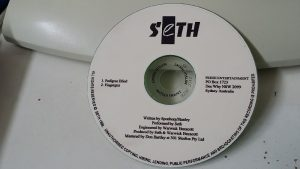 Seth: Pedigree Blind, Fingergun PROMO CD. Dynamic Australian Modern Metal