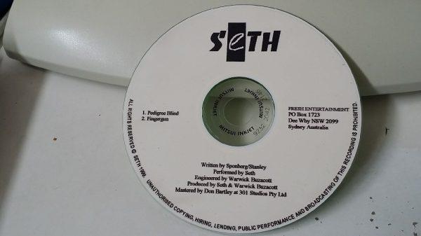 Seth: Pedigree Blind, Fingergun PROMO CD. Dynamic Australian Modern Metal