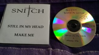 SNITCH: Gnomes in leather CDR Promo. London UK Post punk pop
