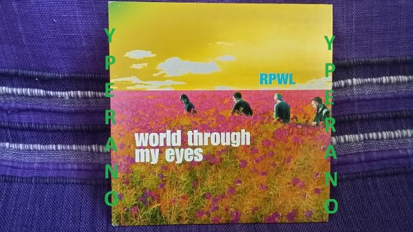 RPWL: World Through My Eyes CD PROMO (mint). progressive rock band. Check samples