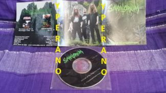 SANATORIUM: Arrival of the forgotten ones CD rare NO BACK COVER. Great Death Metal! CHECK all SAMPLES.