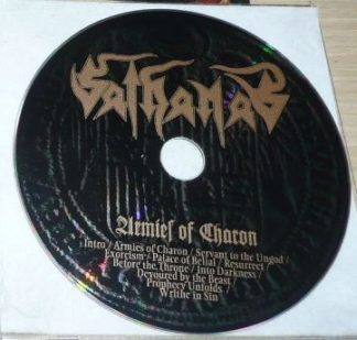 Sathanas: Armies Of Charon CD ONLY, no inners (free for orders of £20+) plus free Sathanas CD-R