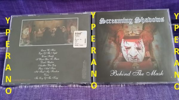 Screaming Shadows: Behind the Mask CD. Huge Italian Heavy Metal. Check out videos (stadium gigs!!)