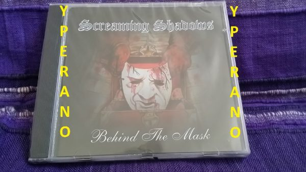 Screaming Shadows: Behind the Mask CD sealed. Huge Italian Heavy Metal. Check out videos (stadium gigs!!)