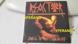 REACTOR Soul in controversy CDR DEMO PROMO. 10 songs. Modern Metal. Free for orders of £20