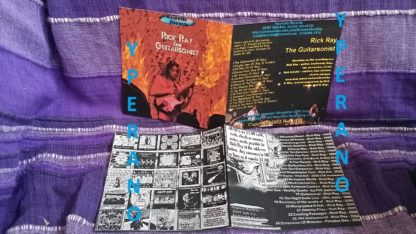 RICK RAY: The Guitarsonist CDR. Free for orders of £15+