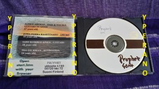 PROPHET: Gone CDR PROMO DEMO. 1998 rare. Gothic Metal from Finland
