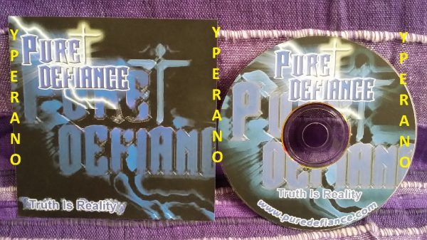 Pure Defiance: Truth Is Reality CDR PROMO. Christian metal. Check samples. Free for orders of £15+