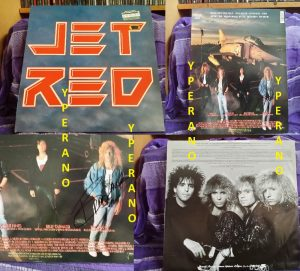 JET RED: Jet Red LP SIGNED, AUTOGRAPHED. Check audio samples.Winger, Firehouse, Trixter, Fastway, Katmandu, Damn Yankees, Ratt