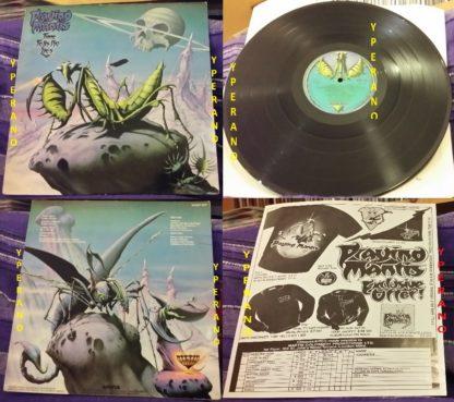 Praying Mantis: Time Tells No Lies LP. + merchandise sheet promo. Check audio