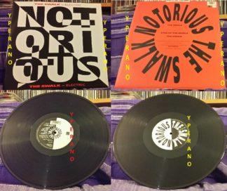 "NOTORIOUS: The Swalk - Electric 12"". Mint. Robin George + Sean Harris (Diamond Head singer). Check video."