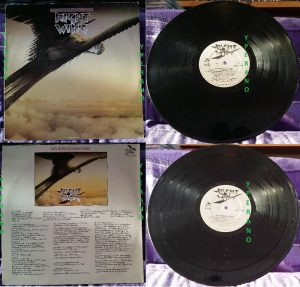 NIGHTWING: My Kingdom Come LP. 1984 UK Gull 1st (hard to find) Pressing. UK Hard rock. Check samples