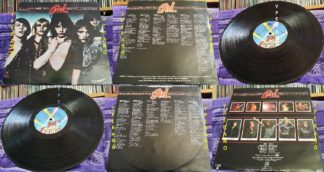 GIRL: Sheer Greed LP Check VIDEOS. L.A Guns singer, Def Leppard guitarist etc. Kiss cover