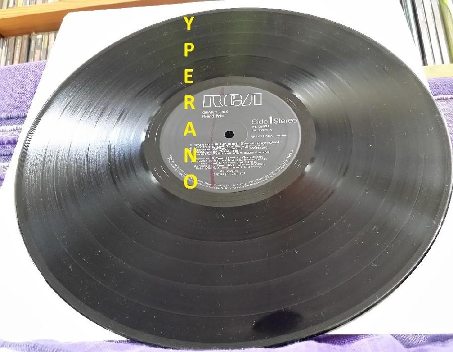 Grand Prix S T The First Album Lp 1980 Bernie Shaw Sings