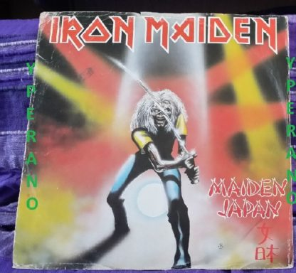 "IRON MAIDEN: Maiden Japan E.P 12"" UK EMI 5219 Check audio"