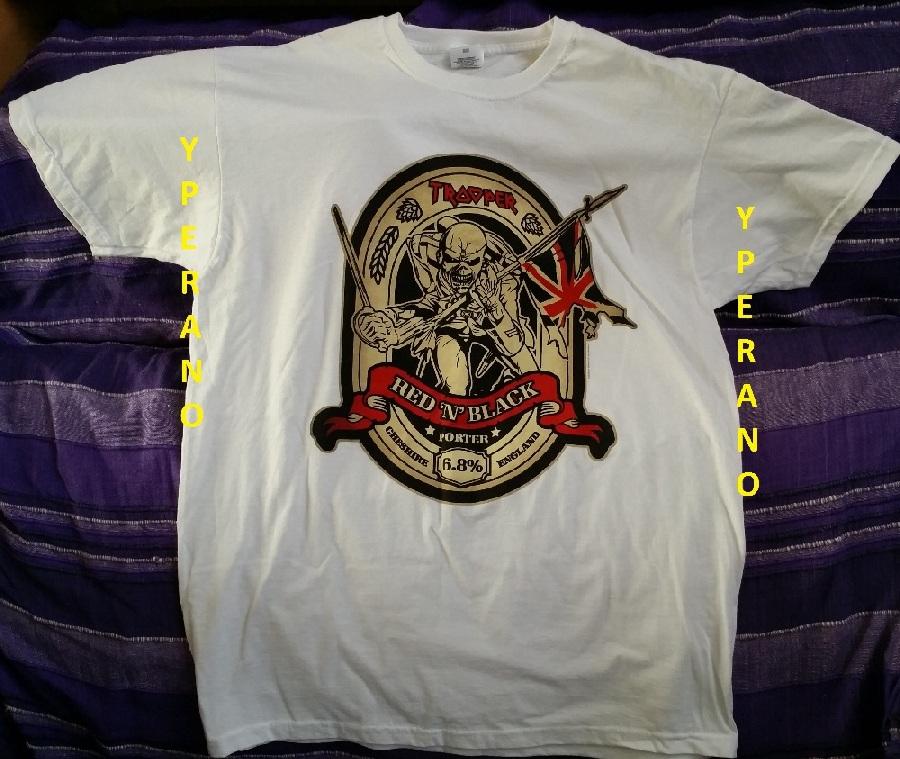 Iron Maiden Eddie Mega Ultra Rare Ltd Promo T Shirt