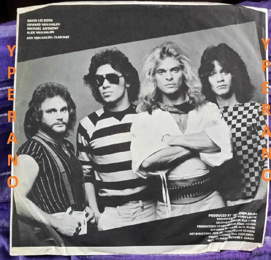 Van Halen Diver Down Lp 1982 Check Videos Yperano Records